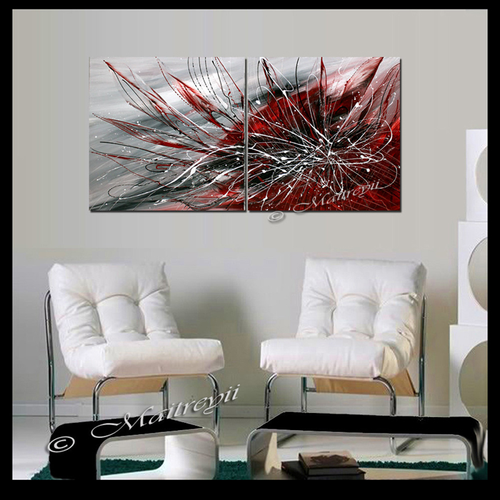 canvas painting two panel