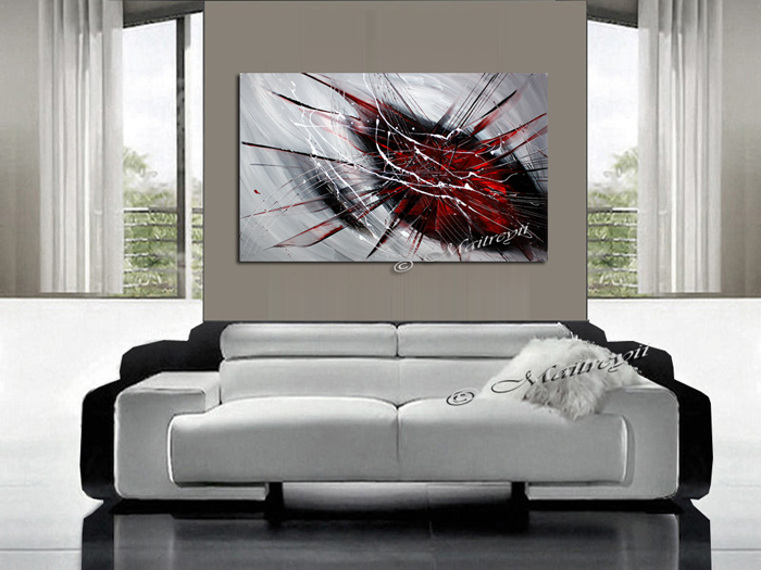 Buy Art Online available in Red Black art