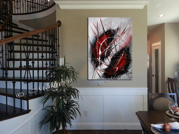 Find Red black art for sale by Maitreyii